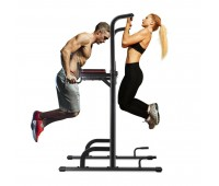 MaxKare Power Tower Workout Dip Stand Pull Up Station Bar Professional Strength